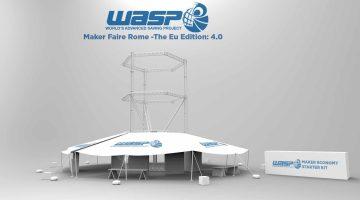 Maker Economy Starter Kit –  Sistema tecnologico mobile  presentato da Wasp al Maker Faire Roma 2016 dal 14 al 16 ottobre
