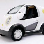 Prima mini-macchina giapponese da consegna stampata in 3D da Kabuku e Honda