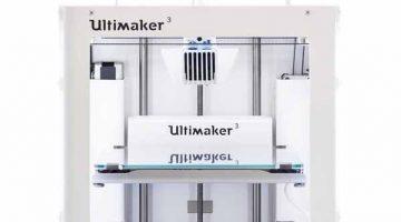 Ultimaker 3 la nuova stampante 3D  desktop professionale, doppio estrusore, equipaggiata di tutto di più