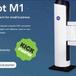 Dobot M1 il braccio robotico desktop che stampa 3D, incide a laser e salda sbanca su Kickstarter