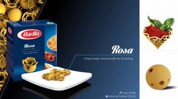 Concorso Barilla Smart Pasta Stampata in 3D – 3.000 € ai vincitori