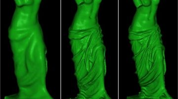 Ponta Scan 3D Software trasforma scanner economici in professionali