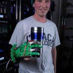 Mano protesica perfettamente funzionante stampata in 3D per soli 15 €