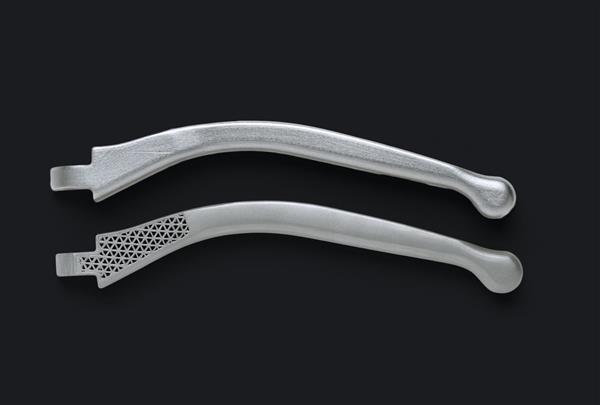 parti metalliche 3D stampati dal Metal X