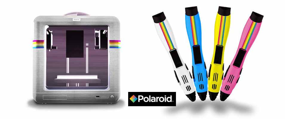 stampanti 3d Polaroid - penne 3d Polaroid