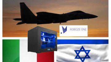 ROBOZE APRE UN CANALE DIRETTO IN ISRAELE
