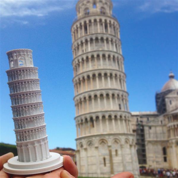 Torre Pendente di Pisa, Italia