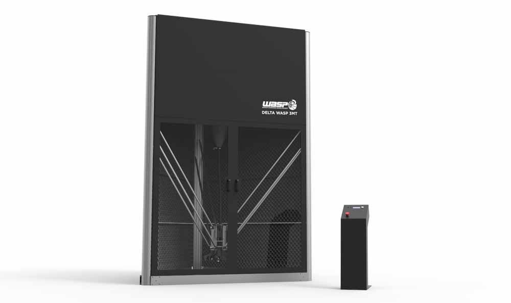 stampante industriale DeltaWASP 3MT