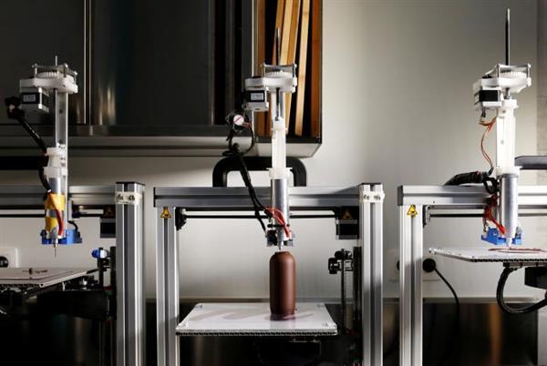 stampanti 3D cioccolato