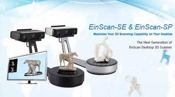 SHINING3D  lancia Einscan-SE e Einscan-SP due nuovi scanner 3D