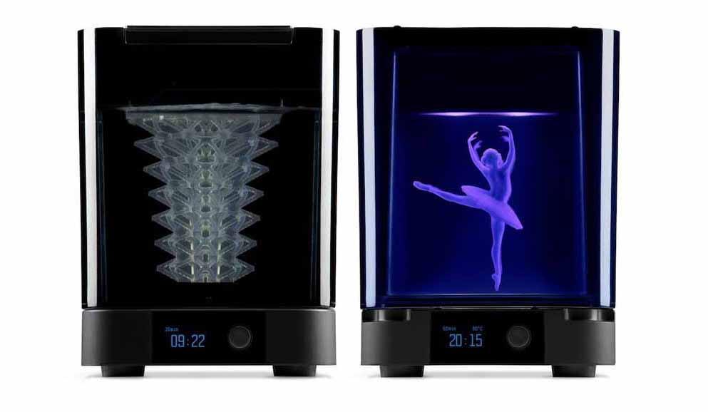 Form Wash, e il forno UV Form Cure