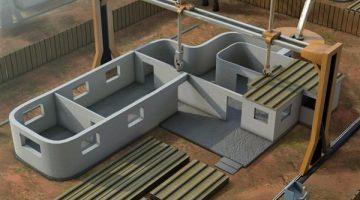 Contour Crafting inizia a produrre  stampanti 3D per edilizia