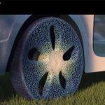 I rivoluzionari pneumatici Michelin  del futuro stampati in 3D, senza aria, durano per sempre