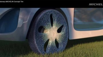 Michelin – Pneumatici in legno riciclabili al 100 % stampati in 3D