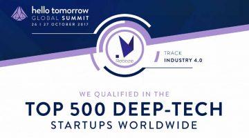 L'italiana ROBOZE tra le 500 startup tecnologiche piu' innovative al mondo