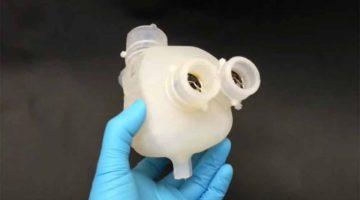 Cuore artificiale pulsante stampato in 3D  dagli scienziati di ETH Zurigo