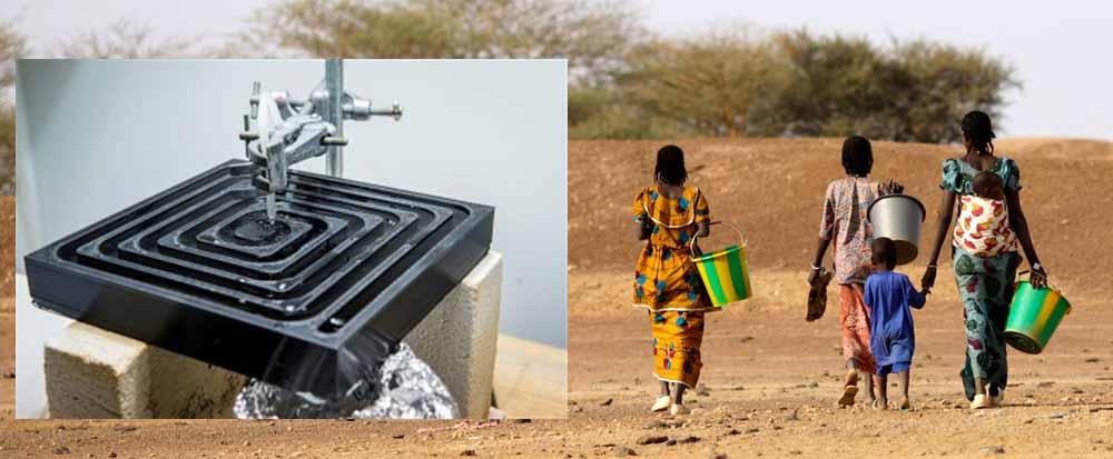 sistema di trattamento delle acque domestiche con la stampa 3D