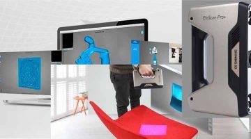 Shining 3D lancia  EinScan V2.5 nuovo software per i suoi scanner 3D