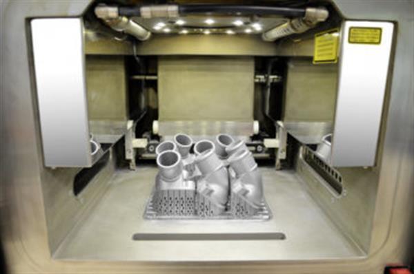parti metalliche stampate in 3d
