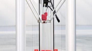 La nuova stampante 3D Delta WASP 20-40 Turbo2, ultra-veloce, precisa, doppio estrusore