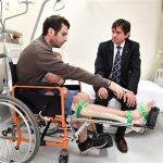 Prima operazione al mondo con Tibia stampata in 3D,  salva uomo dall'amputazione dell'arto