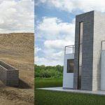 Cazza Construction lancia X1, Robot di stampa 3D che puo' ricostruire le case distrutte dagli uragani