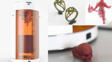 Lumi Industries lancia LT Personal Fabricator, la stampante laser multifunzione 3D a resina  a 655 €