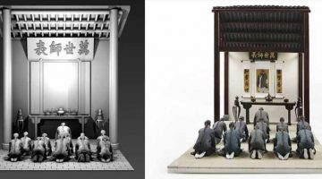 Antiche scene storiche ricreate in 3d dall'Accademia di Belle Arti di Guangzhou