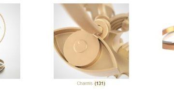 De Rigueur Designs  gioielli stampati in 3D personalizzabili con  l'app. BEZEL