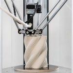 La stampante 3D Delta WASPclay stampa facilmente parti in ceramica di alta qualità