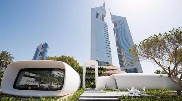 Dubai mette a punto la Stampa 3D Abitativa. Tra due mesi la prima villa stampata in 3D