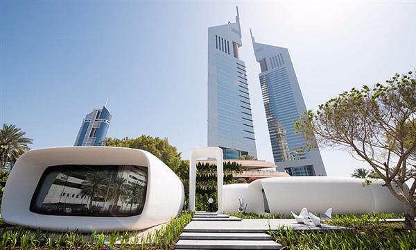 Il primo edificio per uffici stampato in 3D di Dubai