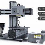 La nuova stampante 3D Snapmaker: Stampa 3D –Incisione laser – Sculture CNC a 949 €