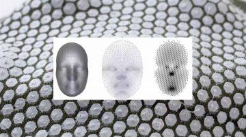 Nervous System  stampa in  3D strutture auto-formanti su tessuto