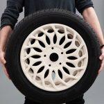 Stampati in 3D nuovi cerchioni auto che offrono un design unico e maggiore stabilità