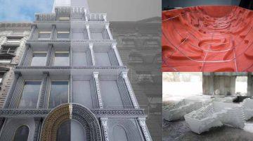 EDG stampa in 3D stampi in calcestruzzo per restauri architettonici