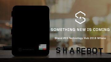 Sharebot lancia una nuova rivoluzionaria stampante 3D al Technology Hub!