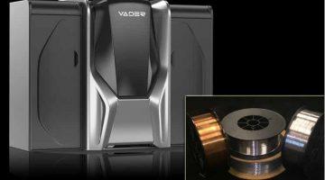La rivoluzionaria stampa 3D in metallo liquido Magnet-o-Jet di Vader Systems