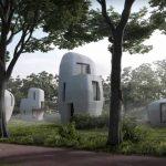 Project Milestone – le prime 5 case abitabili  in Olanda stampate in 3D in calcestruzzo