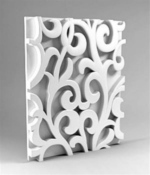 stampo di modanatura architettonica stampato in 3D