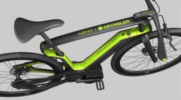 AREVO lancia l'ebike in fibra di carbonio stampata 3D