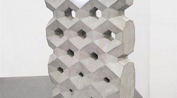 """Muro di cemento """"touch"""" creato da BIGRAP ONE con la stampa 3D grande formato"""