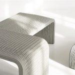 Arredo Urbano del futuro? Panchine in cemento simil-tessuto stampate in 3D