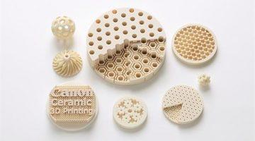 Canon sviluppa materiale ceramico a base di allumina per la stampa 3D ad alta risoluzione