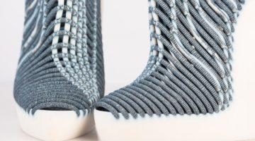 Incredibili  Scarpe in tessuto stampate in 3d del designer Ganit Goldstein