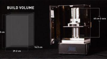 La stampante 3D SLA Transformgrande formato  raggiunge l'obiettivo su Kickstarter in 3 minuti