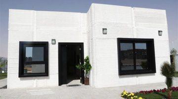 Stampata in 3D  una casa in 48 ore – in Arabia Saudita saranno il 60 % del totale entro il 2020