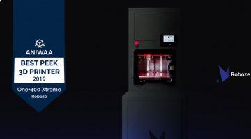 Roboze One+400 Xtreme  tra le migliori stampanti 3D per PEEK al mondo