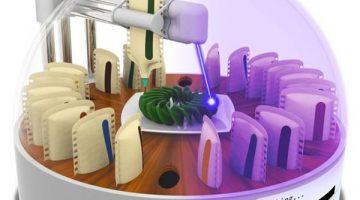 Creata la prima stampante 3D alimentare che cucina i cibi con il laser