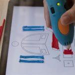 3Doodler crea un App che insegna le basi della stampa 3D  trasformando lo schermo dello smartphone in una tela per penne 3D